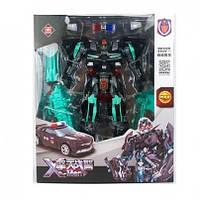 Трансформер Прайм 23см, робот-машинка, оружие, в коробке