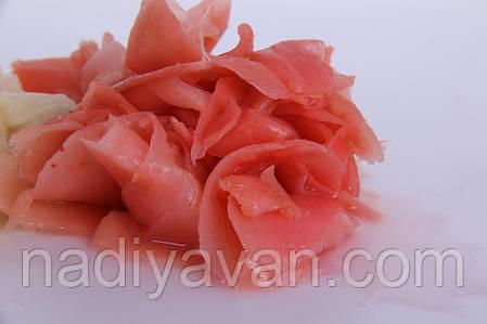 Имбирь маринованный розовый 1кг., фото 2