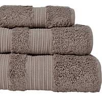 Махровое полотенце 50x90 бамбук/хлопок London Warm Gray CASUAL AVENUE