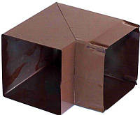 Коліно коричневе до витяжки, фото 1