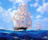 Набор алмазной вышивки Корабль в море KLN 30 х 40 см (арт. FS034)