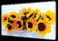 Часы на холсте 30 х 53 см CH22