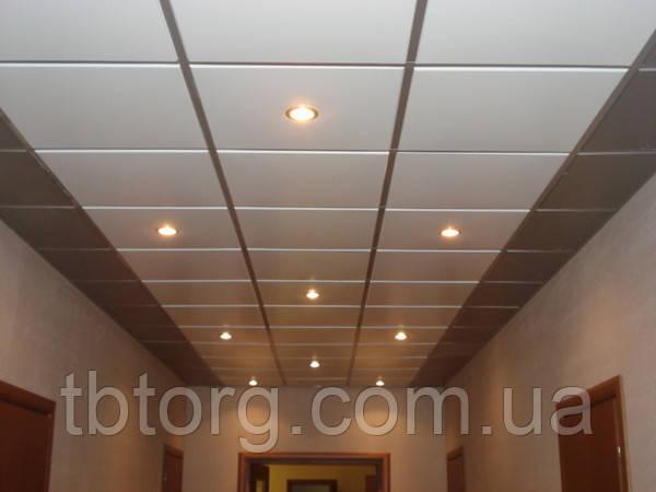 Подвесной потолок для сауны