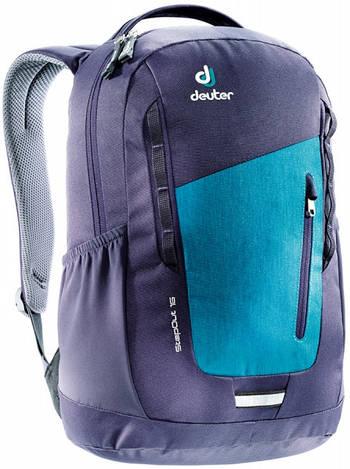 Городской рюкзак Deuter StepOut 16 petrol dresscode/blueberry (3810315 3327)