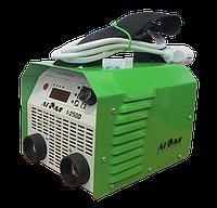 Сварочный инвертор Атом I-180D с кабелем 3+2 м и зажимами Abicor Binzel