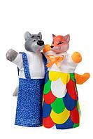 """Набор кукол-рукавичек """"ЛИСА И ВОЛК"""" (2 персонажа)"""