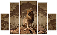 Модульная картина 398 лев