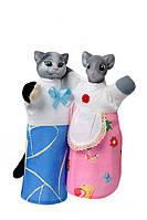 """Набір ляльок-рукавиць """"КІТ І МИШКА"""" (2 персонажі)"""