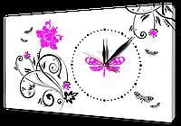 Часы на холсте 30 х 53 см CH43