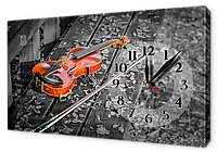 Часы на холсте 30 х 53 см CH85