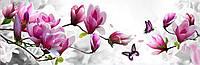 Набор алмазной вышивки Бабочка на ветке с цветами KLN 20 х 60 см (арт. FS040)