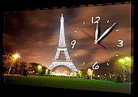 Часы на холсте 30 х 53 см G152