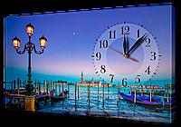 Часы на холсте 30 х 53 см G205