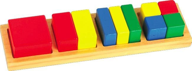 "Рамка-вкладыши ""Дроби"" квадрат"