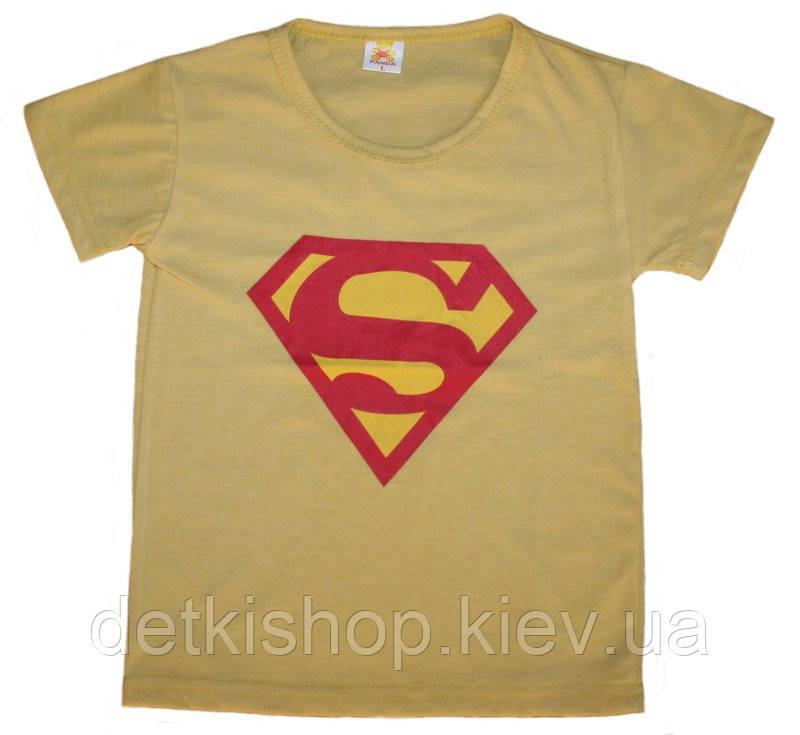Футболка «Супермен» (жёлтая)