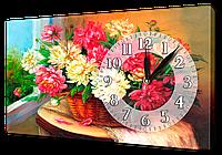 Часы на холсте 30 х 53 см K178