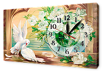 Часы на холсте 30 х 53 см K211