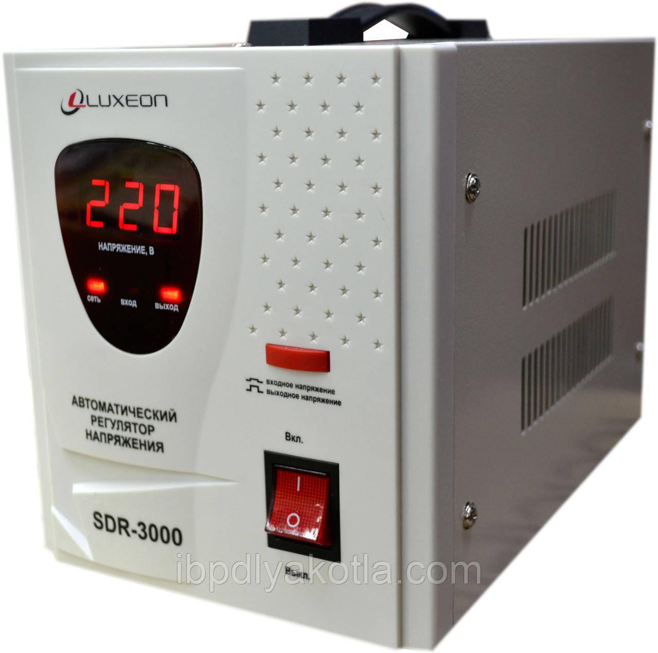 Стабилизатор напряжения Luxeon SDR-3000VA (1800Вт) - Пятый элемент в Одессе