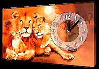 Часы на холсте 30 х 53 см K389