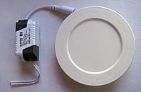 LED панель  ABS Lemanso  6W   LM460  6500K круг 450LM