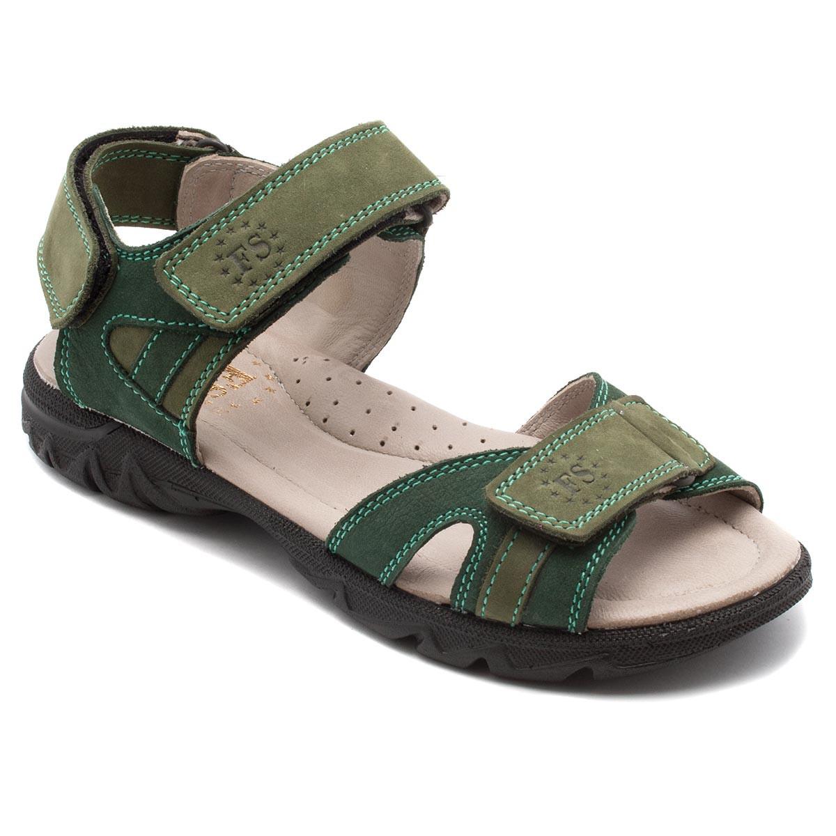 Подростковые сандалии FS Сollection для мальчика, кожаные, размер 32-39