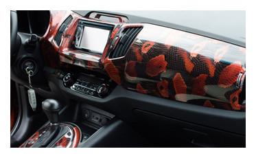Декорированная пленка для автомобиля