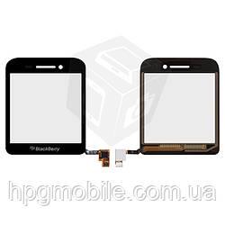 Touchscreen (сенсорный экран) для Blackberry Q5, оригинал (черный)