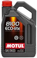 Масло моторне MOTUL 8100 Eco-lite 0W-20 4л