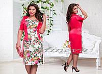Платье Каткотон (размер 52-60)