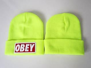 Шапка зимняя Obey  / SPK-131 (Реплика)
