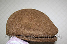Кепка коричнева валяне