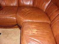 Отреставрировать угловой кожаный диван