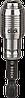 Универсальный держатель для бит Bosch OneClick 10 шт. 2608522319