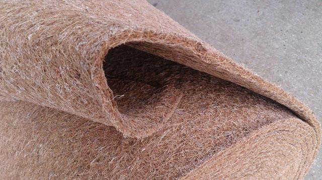 Кокосовая койра латексированая в листах 2 см для производства мягкой мебели и матрасов