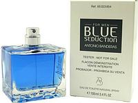 Antonio Banderas Blue Seduction Man EDT 100 ml TESTER  туалетная вода мужская (оригинал подлинник  Испания)