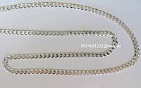 Серебряная цепочка/браслет Панцирь , фото 1