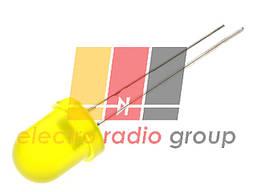 Светодиод  8мм желтый диффузный    30мКд 8003YD
