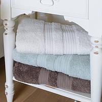 Махровое полотенце 50х90 бамбук/хлопок London  White CASUAL AVENUE, фото 1