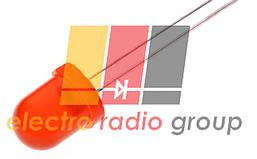 Светодиод  8мм красный диффузный  120мкД 8AR4SD