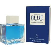 Antonio Banderas Blue Seduction Men EDT 100 ml Духи (оригинал подлинник  Испания)