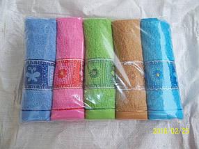 Махровое полотенце лицевое
