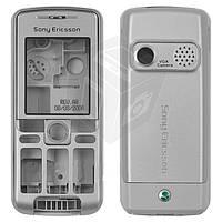 Корпус для Sony Ericsson K310 - оригинал (серебристый)