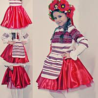 НОВИНКА! Пышная юбка в украинском стиле
