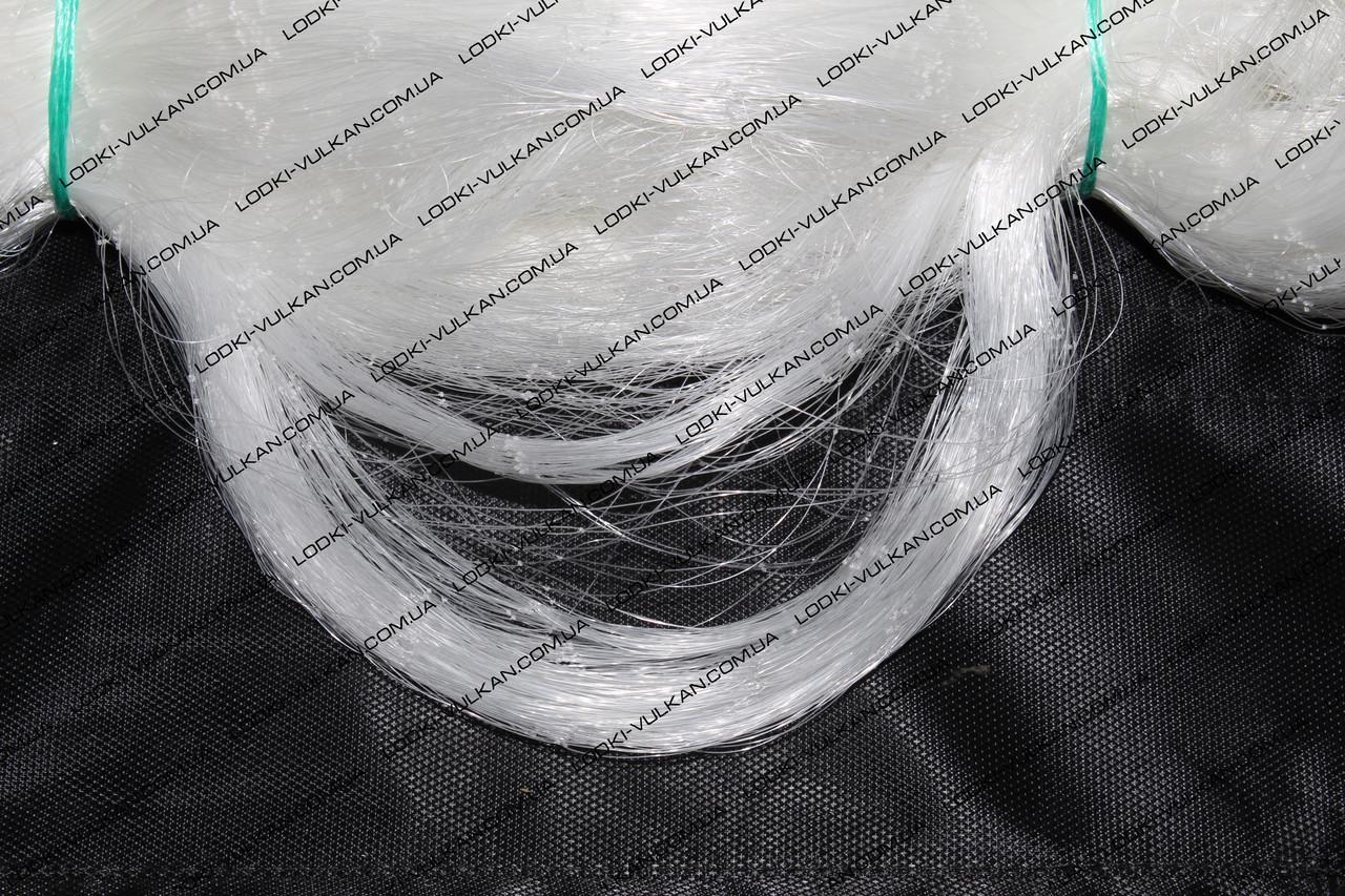 Сетеполотно из лески 0,23 (белая)