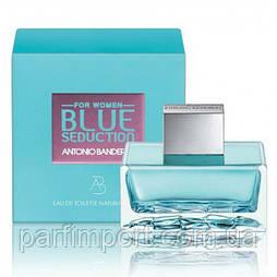 Antonio Banderas Blue Seduction Woman EDT 30 ml  туалетная вода женская (оригинал подлинник  Испания)