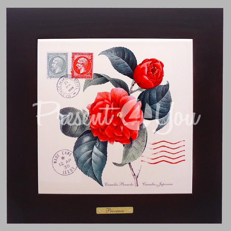 Панно настенное «Прованс. Роза», 20х20, 28х28 см.