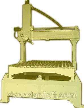 Фрезерный станок с ЧПУ 4D Рабочее поле станка 2100 х 1200, фото 2