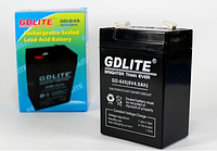 Аккумулятор батарея GDLITE 6V 4.0Ah GD-640 Бесперебойное питания