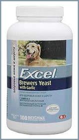 Бреверс-150табл.Россия.витамины для собак и кошек с пивными дрожжами и чесноком, банка 150 таб.