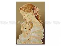 Схема вышивки бисером «Мать и дитя» (30x50)